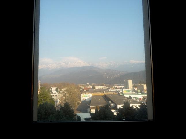 vue de ma chambre , belledonne